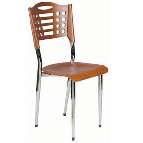 Metal Restaurant Chair - ams12