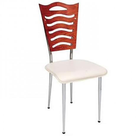 Bent Plywood Backing Restaurant Chair - ams81