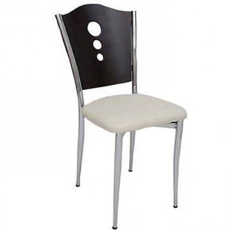 Black Torn Metal Chair - ams108