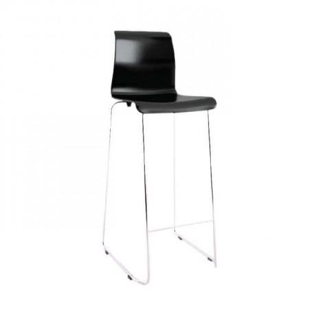 Ahşap Gövdeli Metal Ayaklı Bar Sandalyesi - mds10