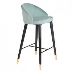Black Wooden Foot Bar Chair Assortment With Bracelet