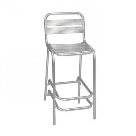 Çift Kayıtlı Alüminyum Bar Sandalyesi - alb18c