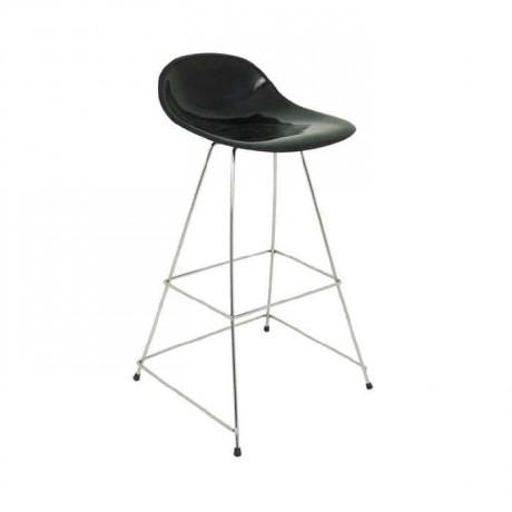 Çubuk Demirli Fiber Oturaklı Bar Sandalyesi - mbs31