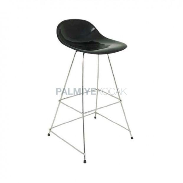 Iron Stick Bar Chair with Fiber Seats