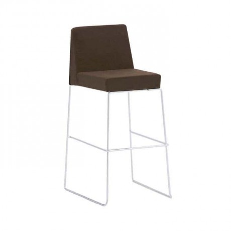 Stainless Steel Metal Stick Bar Chair - mds03