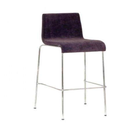 Leather Upholstered with Metal Legs - mds08