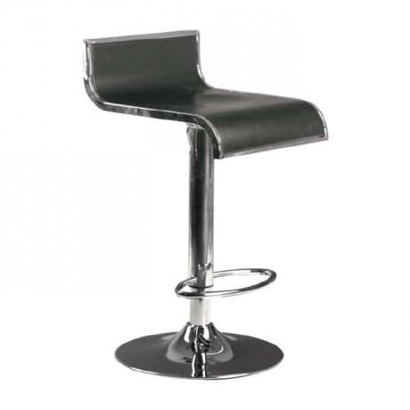 Fiberli Krom Ayaklı Bar Sandalyesi - prs09