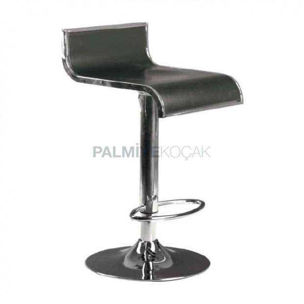 Fiber Chromium Leg Bar Chair