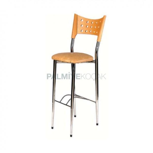 Chrome Bar Chair