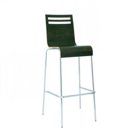 Laminat Kontralı Metal Ayaklı Bar Sandalyesi - mds12