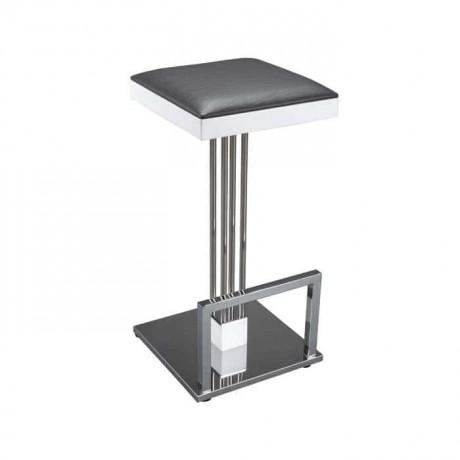 Paslanmaz Ayaklı Metal Bar Sandalyesi - prs21