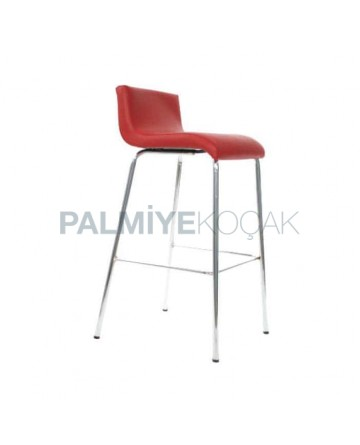 Red Metal Bar with Polyurethane Sponge