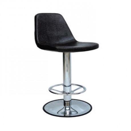 Polyurethane Sponge Black Metal Bar Chair - mds06
