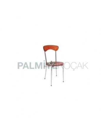 Metal Chrome Cafe Chair