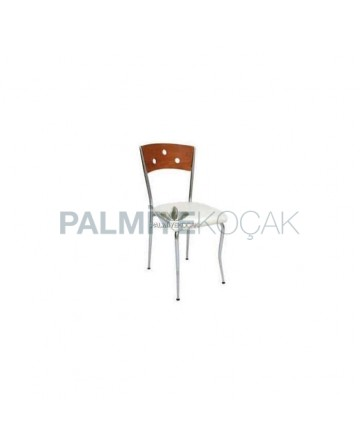 Metal Chromed Chair