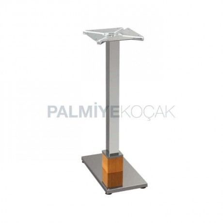 Double Stainless Metal Table Leg - mtc68