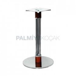 Inox Base Round Metal Leg