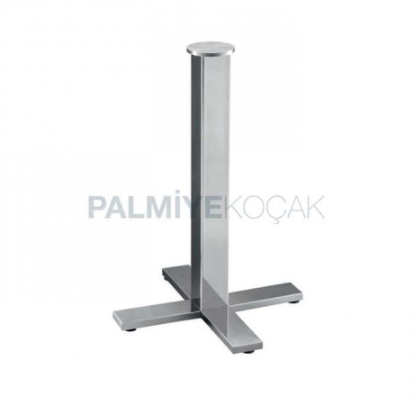 Krom Kaplı Metal Masa Ayağı - mtc301