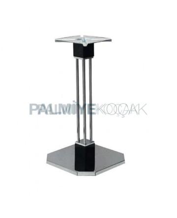 Metal Çubuklu Paslanmaz Masa Ayağı