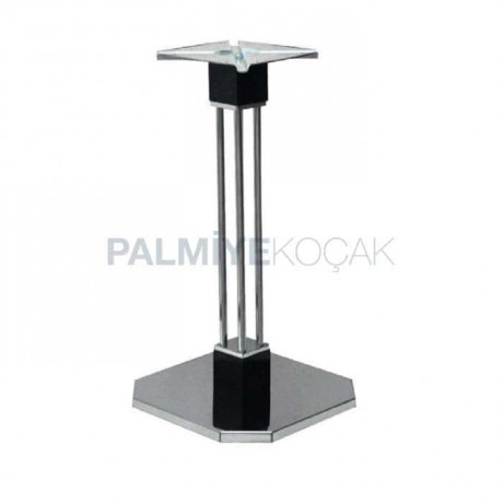 Metal Bar Stainless Table Leg - mtc22