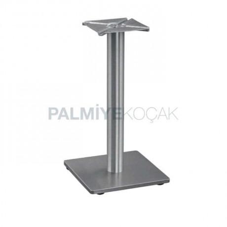 Stainless Square Base Metal Table Leg - mtc16