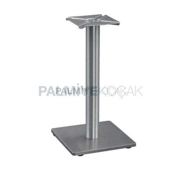 Stainless Square Base Metal Table Leg