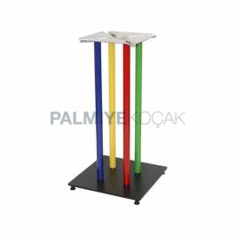Renkli Metal Masa Ayakları