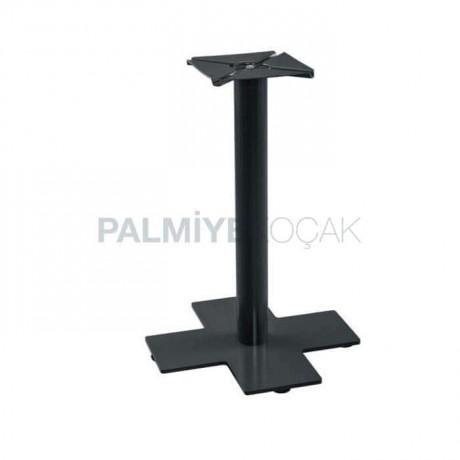 Siyah Boyalı Metal Masa Ayağı - mtc303