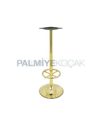 Brass Coating Bar Table Leg