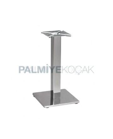 Satin Stainless Square Table Leg