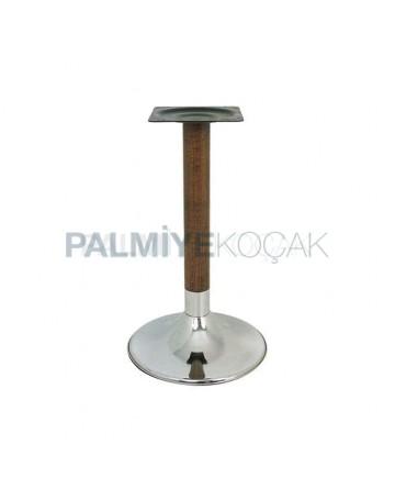 Plastering Wooden Standing Table Leg