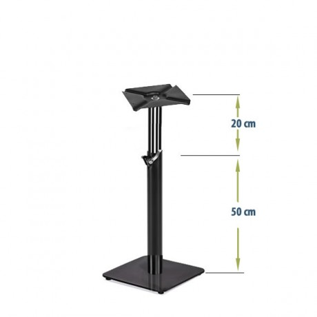 Ayarlanabilir Metal Masa Ayağı Kare Tabanlı Sehpa - Masa - mto14s