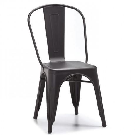 Antrasit Boyalı Metal Sandalye - Metal Sandalye