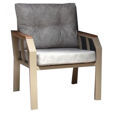 Antrasit Minderli Metal Sandalye - yte172