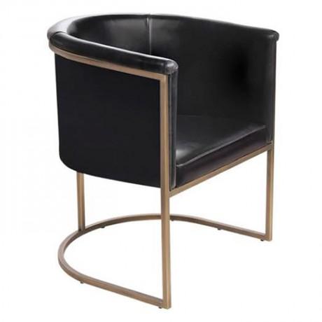 Deri Kaplı Modern Tasarımlı Sandalye - yte148
