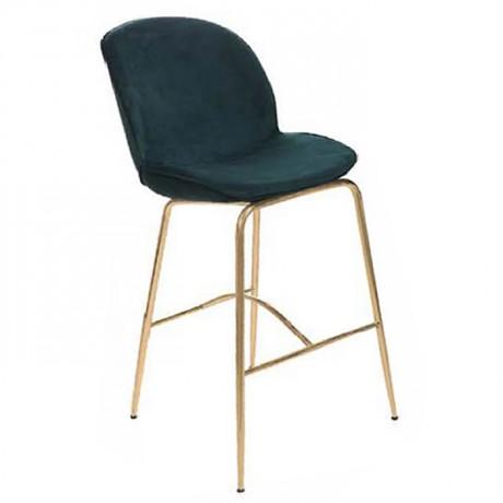 Hardal Renkli Metal Ayaklı Modern Sandalye 1. Sınıf - yte145