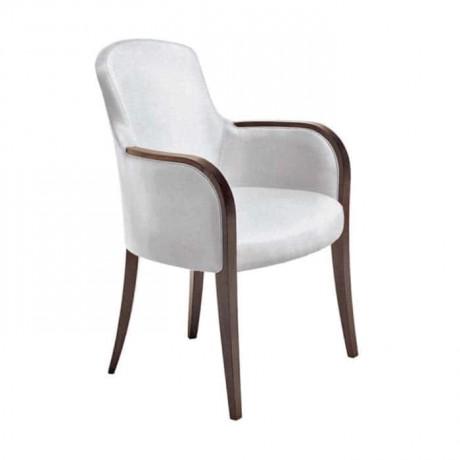 Wooden Cafe Arm Chair - mska20