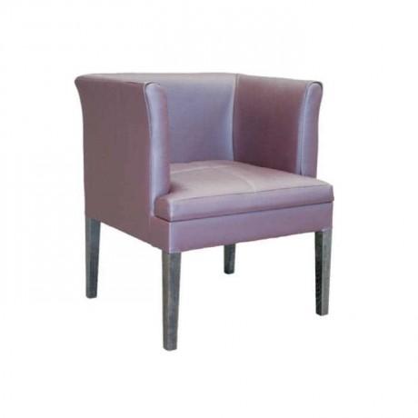 Deri Kollu Modern Sandalye - mskb24