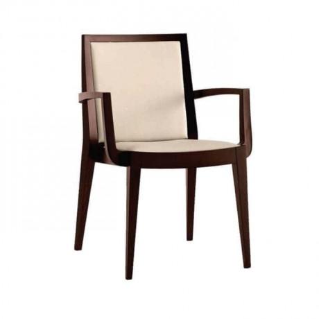 Eskitme Boyalı Moderen Kollu Otel Sandalyesi - mska10