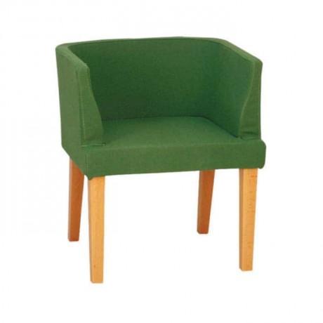 Fıstık Yeşil Kumaşlı Modern Mekan Sandalyesi - mskb13