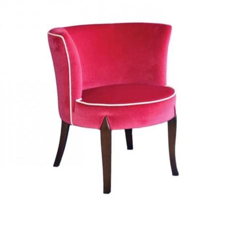Fusia Kumaşlı Moderen Cafe Restoran Sandalyesi - mskb39