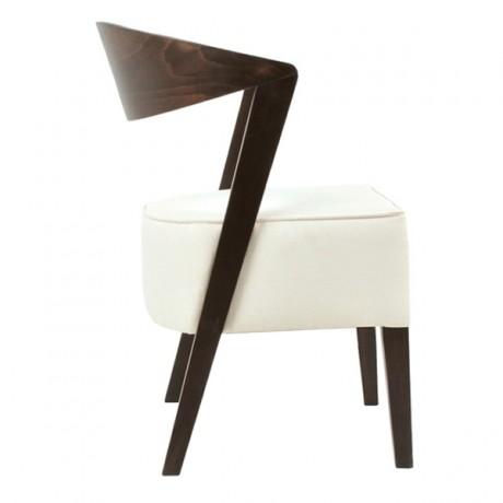 Kalın Sünger Kayın Modern Ahşap Sandalye - san-0215k
