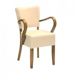Arm Cream Wooden Wooden Chair