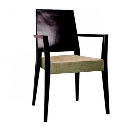 Siyah Lake Boyalı Kontralı Modern Cafe Otel Sandalyesi - mskc13