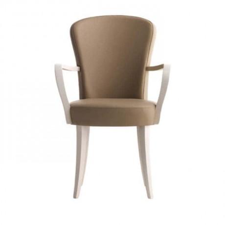 Vizon Renkli Ahşap Kollu Modern Sandalye - mskc18