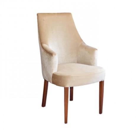 Yüksek Sırtlı Kumaş Döşemeli Kollu Sandalye - mskb43