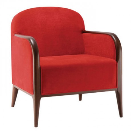 Bergere with Red Fabric - bm34