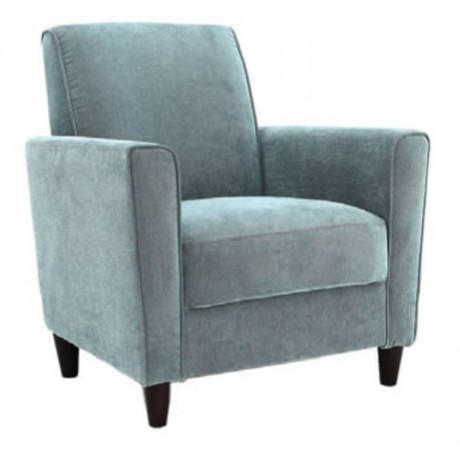 Modern Bergere with Gray Fabric - bm39