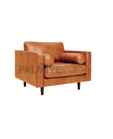Modern Bergere with Sausage Cushion