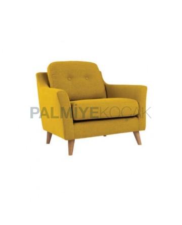 Retro Leg Mustard Fabric Bergere